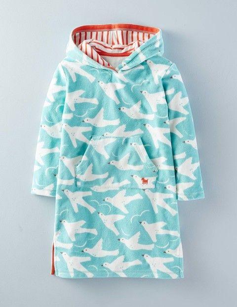 Towelling Beach Dress 36135 Tunics & Kaftans at Boden | Children\'s ...