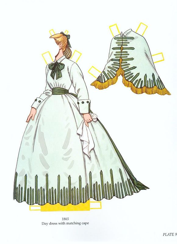 Worth Fashion Review paper dolls by Tom Tierney - Yakira Chandrani - Picasa Albums Web