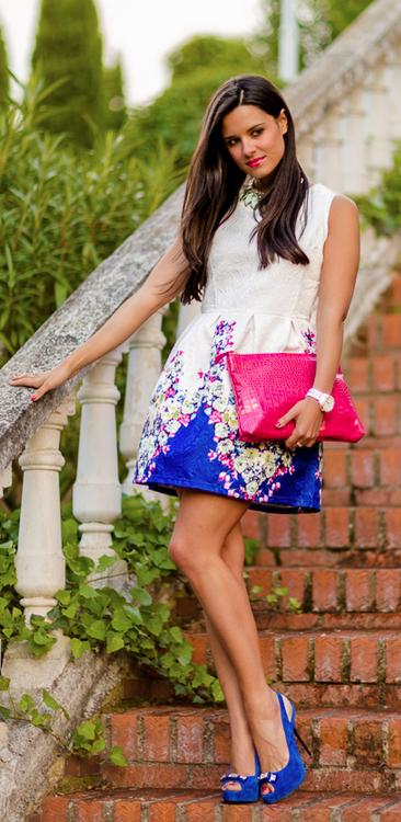 Vestido/Dress: Sheinside Collar/Necklace: Zara Reloj/Watch: Michael Kors Zapatos/Shoes: Zara Bolso/Bag: Misoula