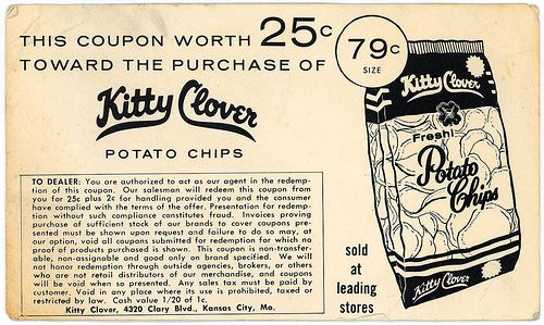 Kitty, Kitty,Kitty,Kitty Clover - Kitty Clover Potato Chips