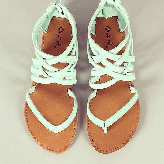 Cute summer sanders   Sandal fashion, Summer shoes