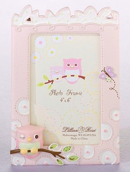 NY GIFT BOX - Pink Owl Picture Frame, $15.00 (http://www.nygiftbox.com/pink-owl-picture-frame/)