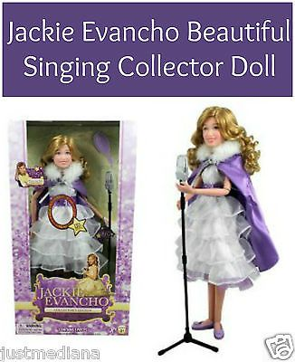 """Jackie Evancho Beautiful Singing Collector 14"""" Doll """"When You Wish Upon a Star"""""""