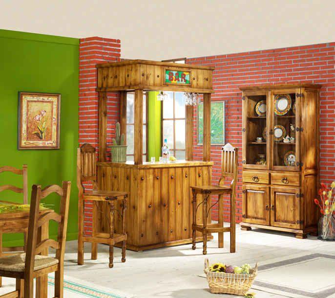 Pin de jessy romero urz a en living comedor pinterest muebles r sticos modernos r stico - Muebles rusticos modernos ...