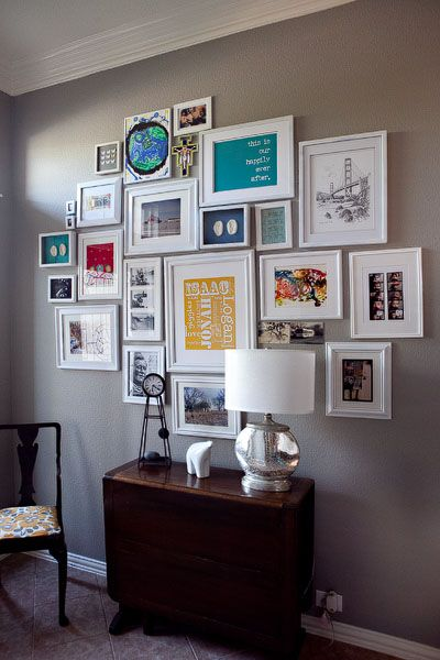 Photo Gallery That I Hung In Our Entry Way Art For The Home Pinterest Photo Galleries