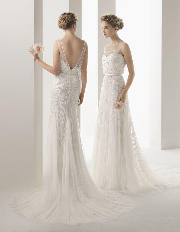 Soft by Rosa Clará Wedding Dresses 2014 | Pinterest | Brautkleider ...