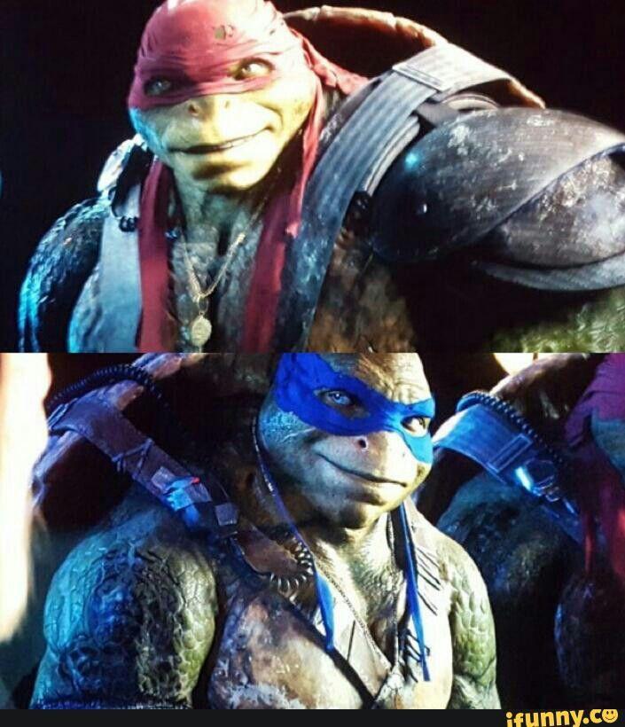 Tmnt 2016 Tmntmovie2 Leonardo Raphael Teenage Ninja Turtles