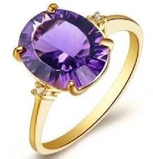 I miss my amethyst ring