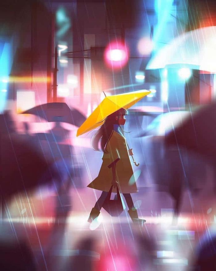 Artist Creates Illustrations That Turn Loneliness Into Magic