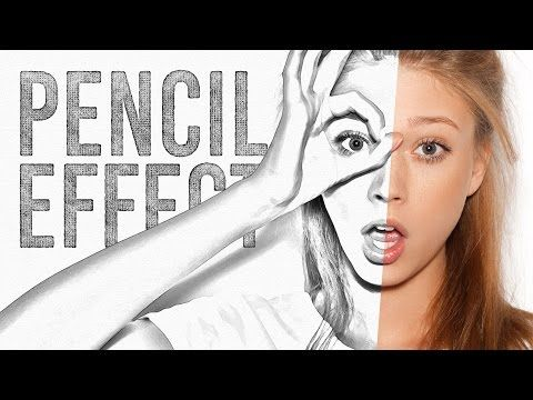 Video tutorial pencil sketch drawing effect in adobe photoshop adobe photoshop photoshop and adobe