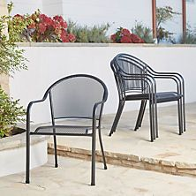 Member S Mark Stackable Mesh Chairs 4 Pack
