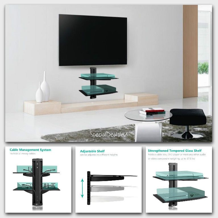 Perfekt TV Floating Shelf Shelves Stand Wall Mount Console Media Entertainment  Furniture #WALLII #ModernContemporaryAccent. Wohnzimmer RegaleKabelboxMedien  MöbelTv ...