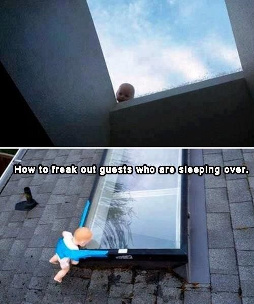 Funny prank to pull on guests, and a little | http://funny-video-ada.blogspot.com