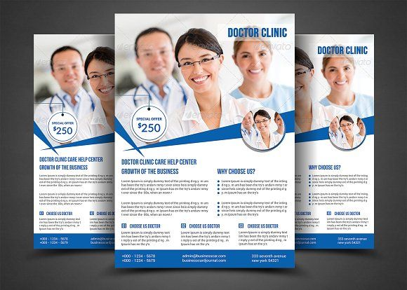 Health  Medical Doctors Flyer Templ By Afzaalgraphics On