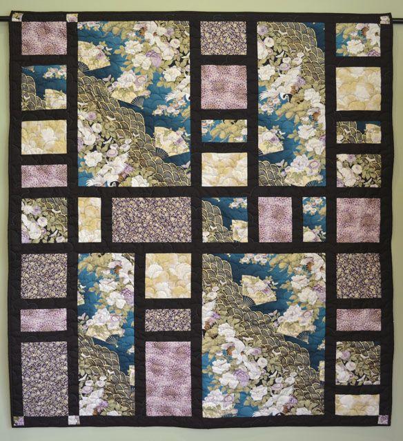 Asian patch quilt