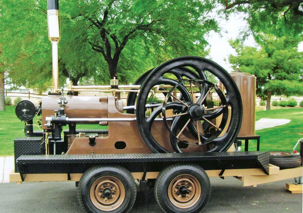 Allan Brothers Oil Engine on a Return to Glory - Gas Engines - Gas Engine Magazine