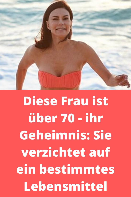 Wahnsinn, sie sieht gar nicht aus wie 70!