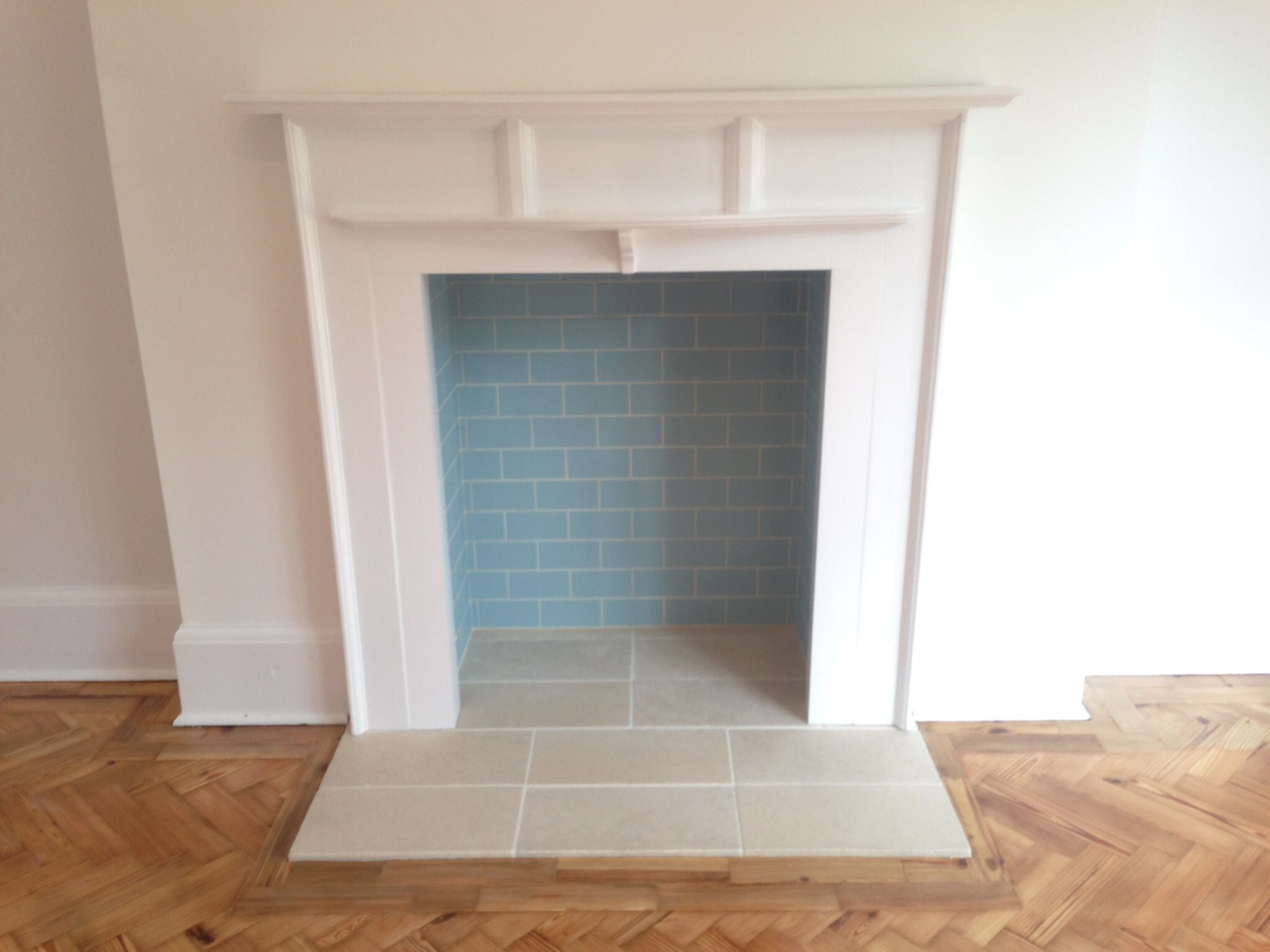 Fireplace Rebuild To House A Freestanding Wood Burner The