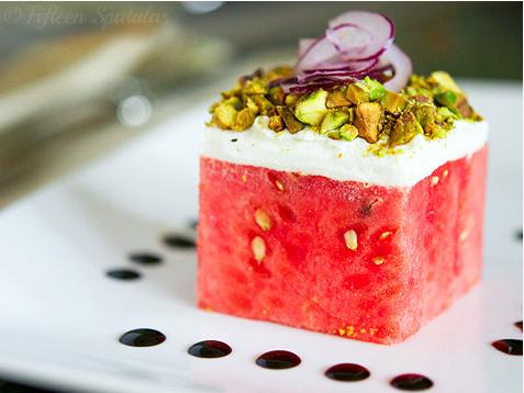 Stacked Watermelon Salad | iVillage.ca