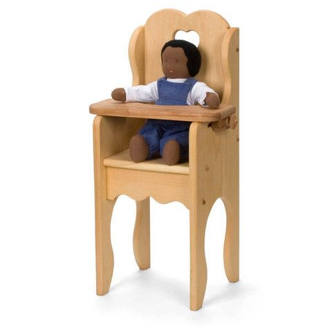 Doll Furniture And Accessories Doll High Chair Doll Furniture Wooden Baby Toys