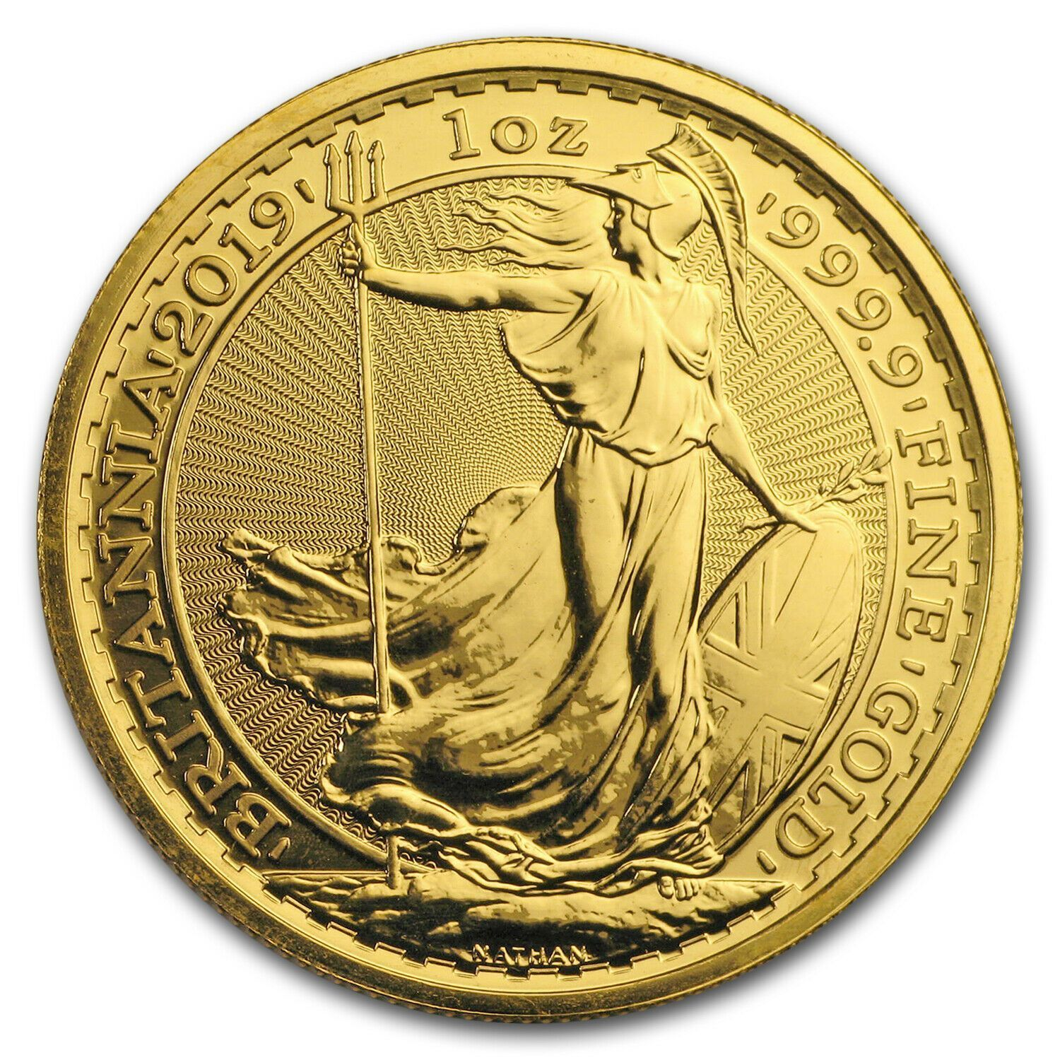 2020 British Royal Mint Gold Britannia 1 oz Coin