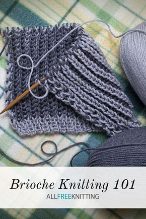 How to Knit Brioche – Knitting