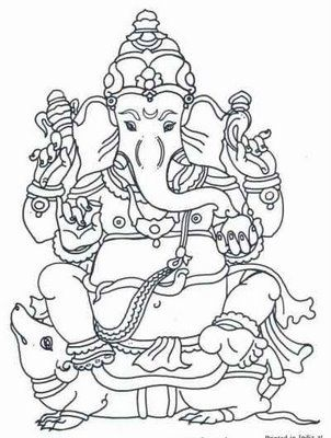 ganesha (remover of obstacles, lord of beginnings, patron of arts ...