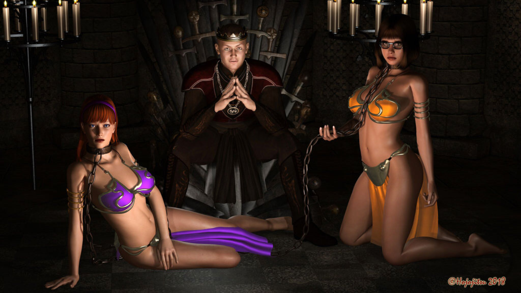 574872472c Daphne and Velma: Slaves of Western King by hojojitsu on @DeviantArt ...