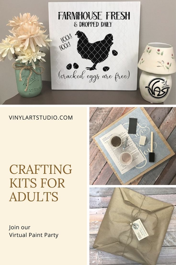 Creative Sign Painting kits to paint at home. Great for \