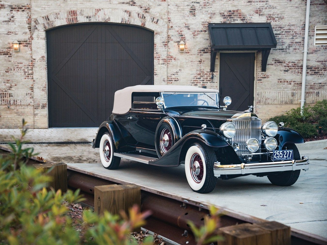 1933 Packard Twelve Convertible Victoria Chassis No.901136 Engine No ...