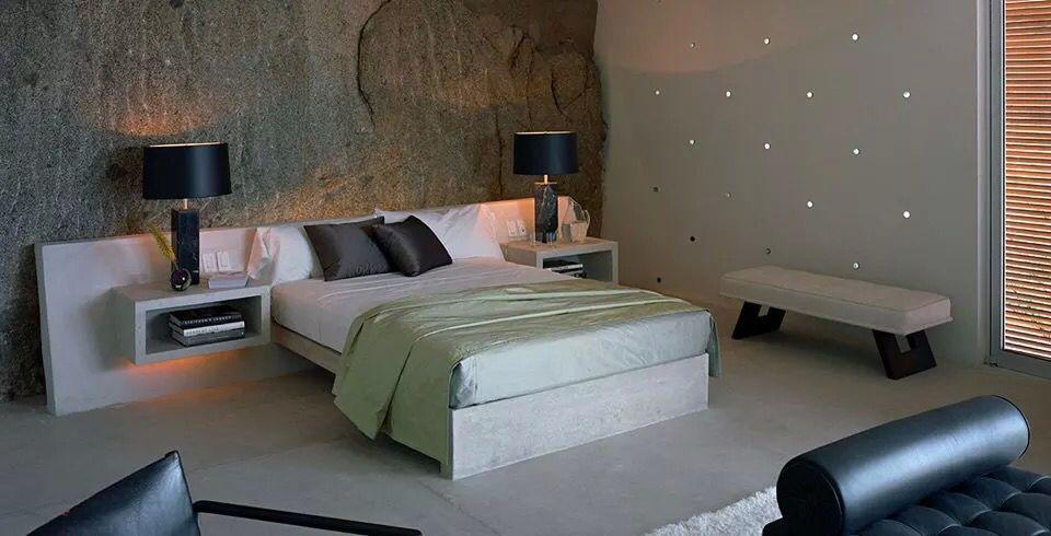 Cement bed Apartment / houses design ideas Pinterest