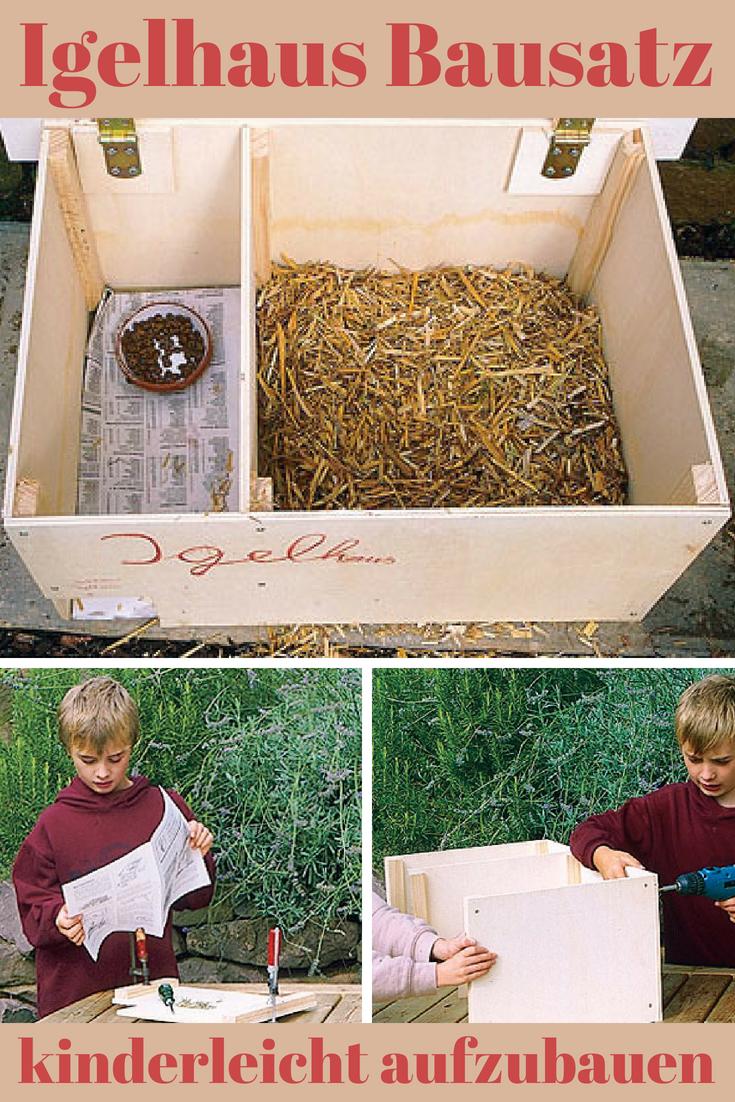 igelhaus bauen   vögel, igel, insekten und co.   pinterest   garden