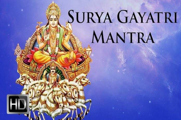 Sun Gayatri Mantra Also Known As Aditya Gayatri Or Shri Surya