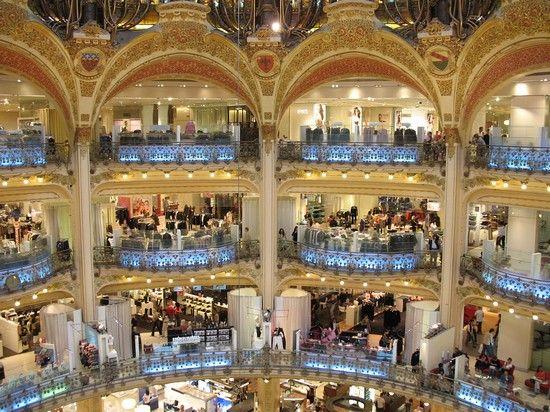 Shopping Places In Paris Lafayette Galerie Paris Shopping In Paris A Shopaholics Dream Paris Shopping Paris City Guide Paris City