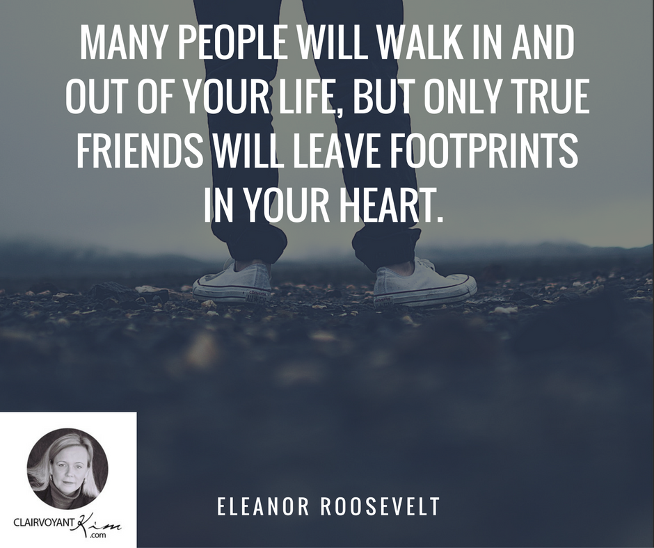 Many People Will Walk In And Out Of Your Life But Only True Friends