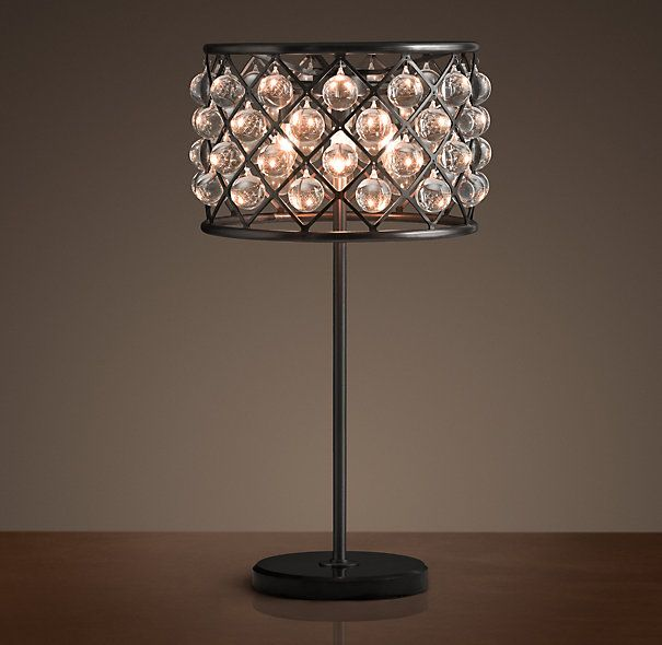 Restoration Hardware   Spencer Table Lamp $1195 An Inspired Design From The  British Workshop Of Timothy