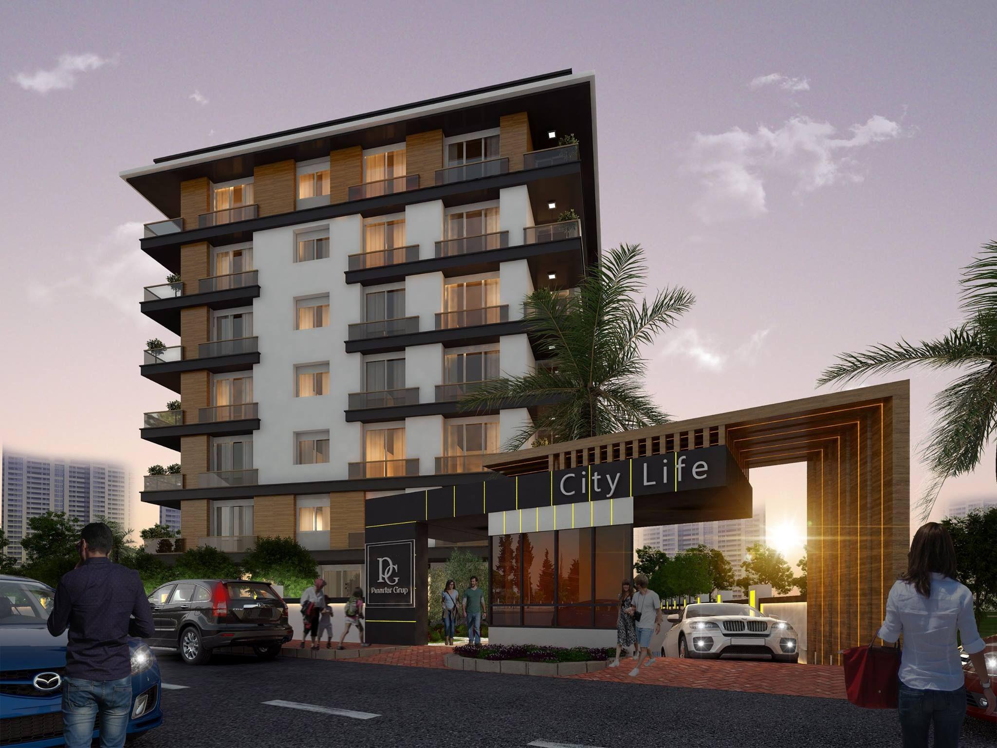Exterior Building Design exterior design, apartment design, apartman tasarımı, pınarlar