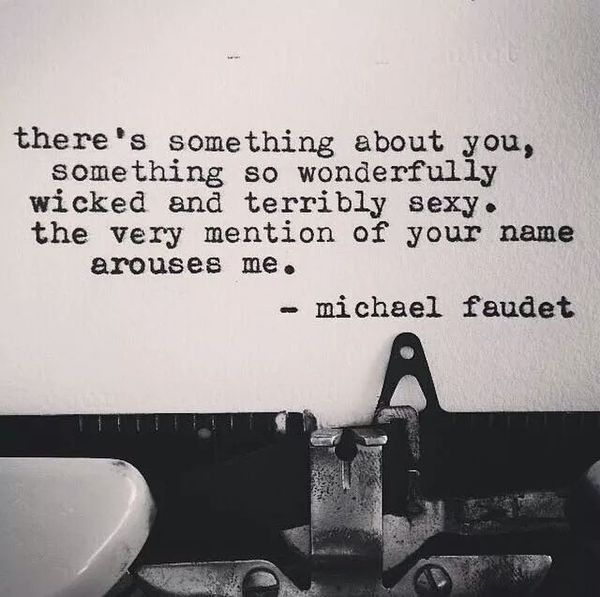 Theres Something About You Something So Wonderfully Wicked And