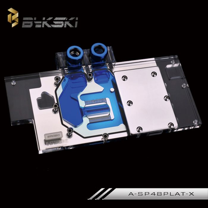 Bykski A Sp48palt X Full Cover Graphics Card Water Cooling Block