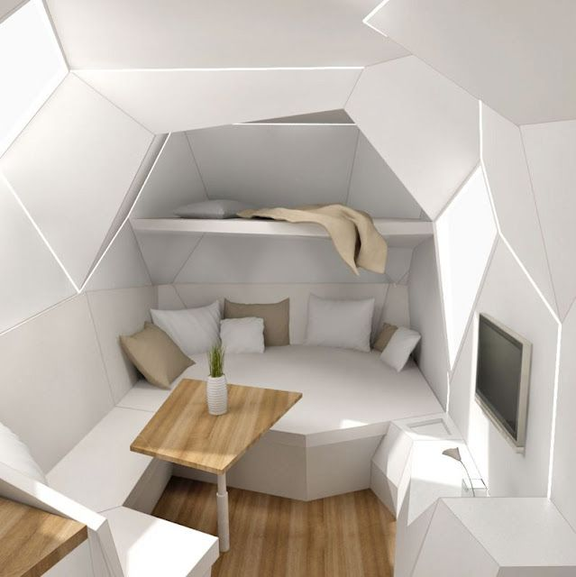 Inside amazing caravan | Small Spaces | Pinterest