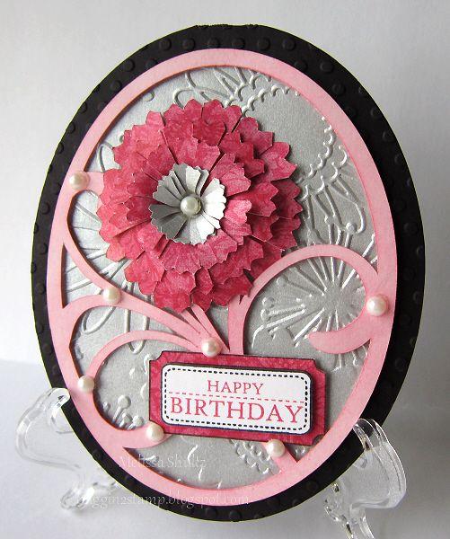 IC377 - Birthday Flower by javagirl984 - Cards and Paper Crafts at Splitcoaststampers