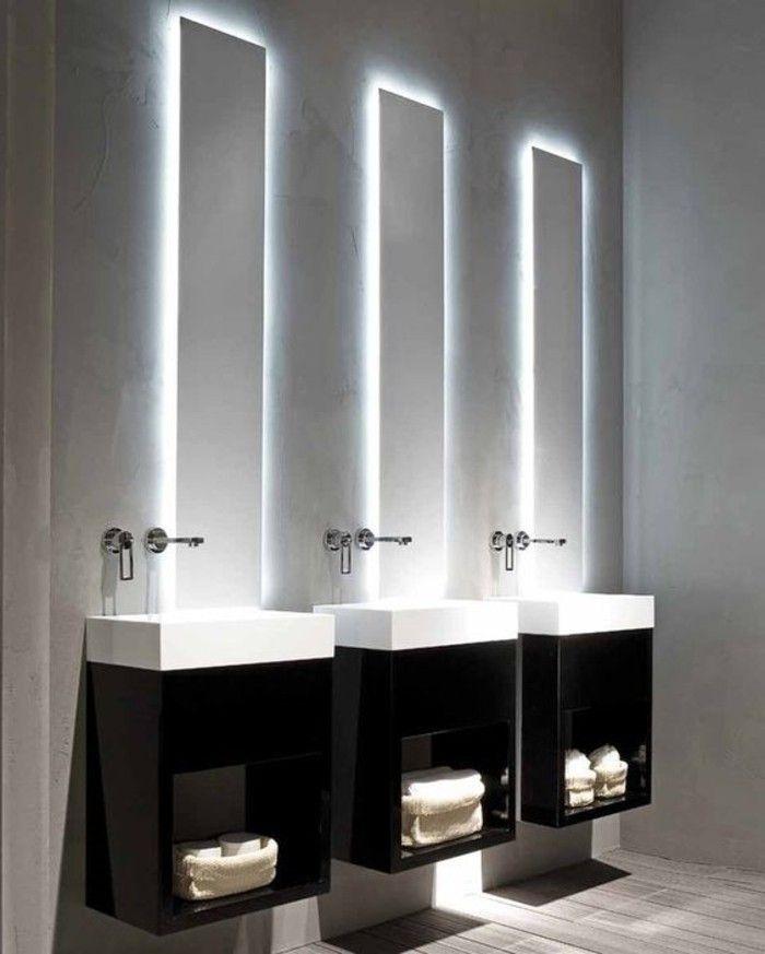O trouver le meilleur miroir de salle de bain avec - Miroirs salle de bain avec eclairage ...