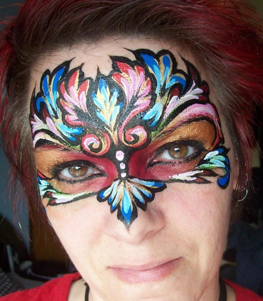 Renaissance Face Painting By Michelle's Fantasy Faces