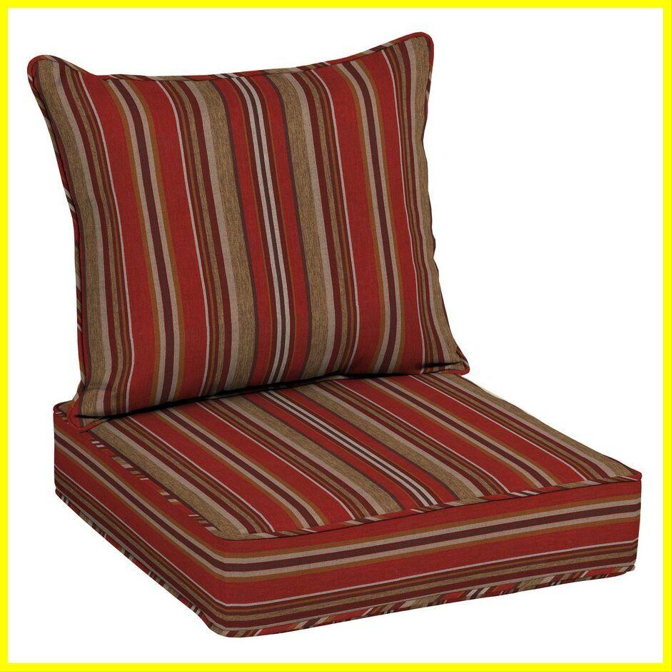 patio chair cushions red