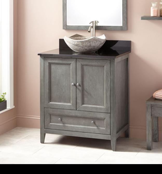 Rustico Vessel Sink Vanity Base By Ambella Home Best Bathroom And
