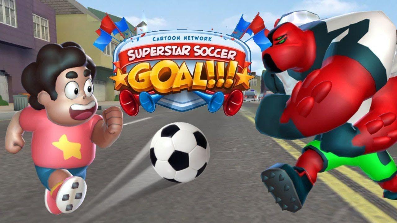 Cn Superstar Soccer Goal Steven Team Lost Vs Four Arms Team Mode Sing Soccer Goal Four Arms Soccer