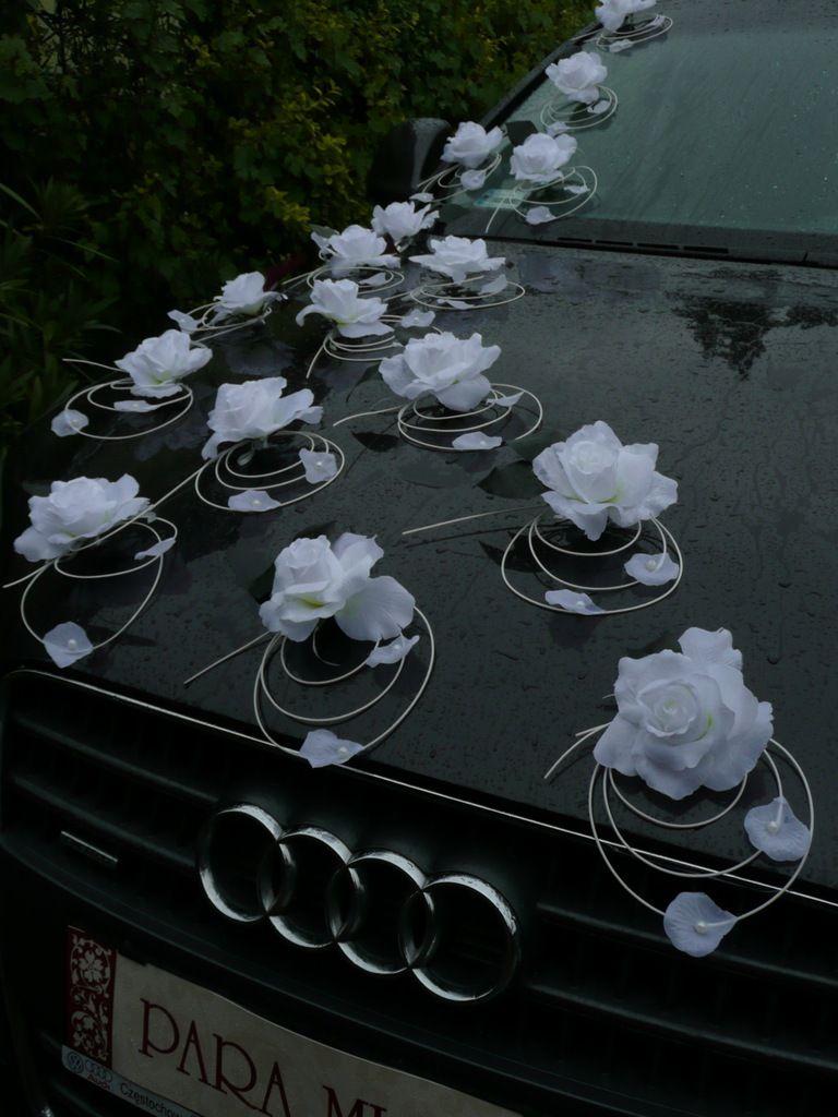 Dekoracja Samochodu Ozdoby Na Auto Do Slubu Stroik Candlelight Tea Lights Tea Light Candle