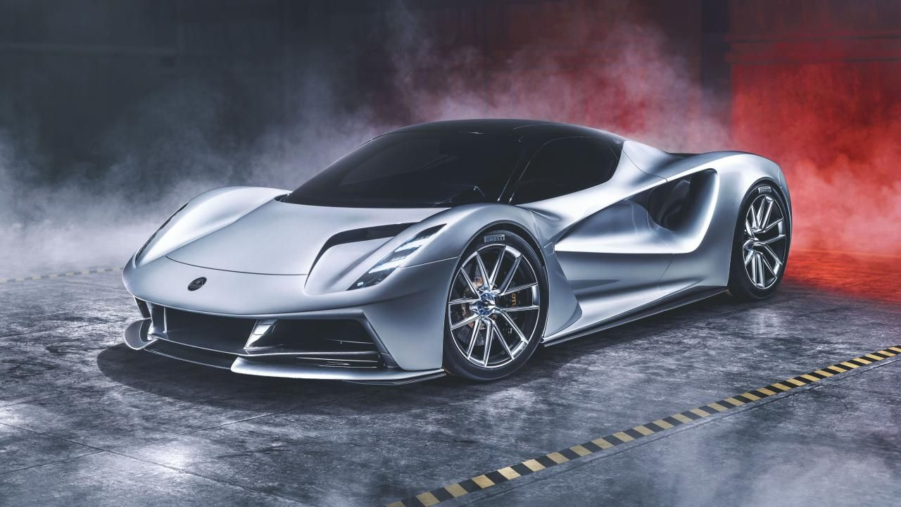 This is the Lotus Evija: a 1,972bhp electric hypercar