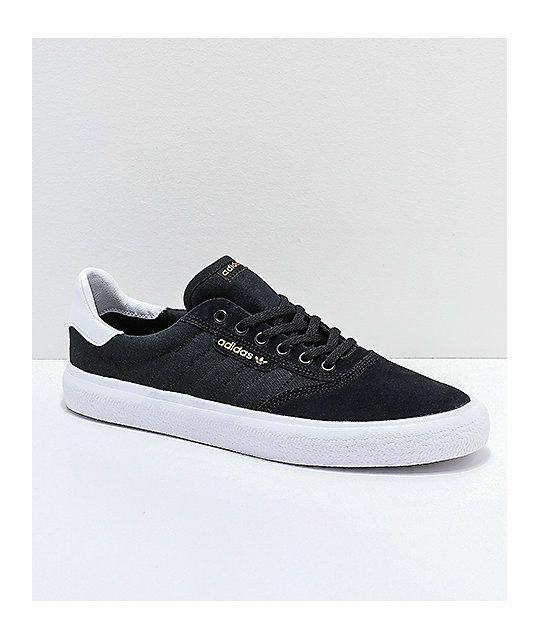 Nabo Ambigüedad Complacer  adidas 3MC Black & White Shoes | Zapatillas vans, Zapatos hombre, Zapatos