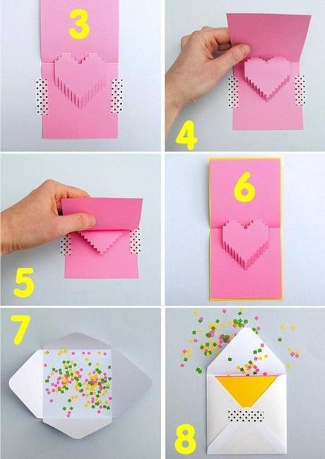 Tarjetas De Amor 3d Pop Up 11 Rocio Cards Playing Cards Y